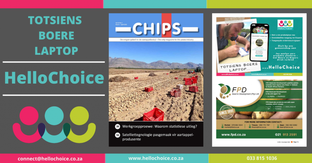 HelloChoice in the April 2020 Chips Magazine