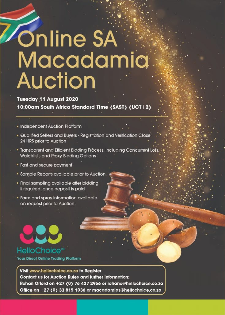 SA's First Online Macadamia Auction Video