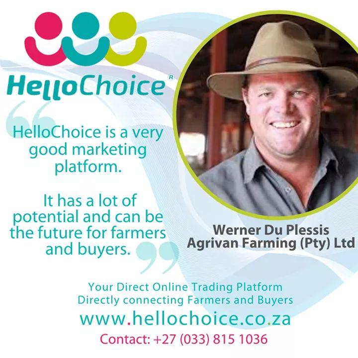 Werner Du Plessis Agrivan Farming