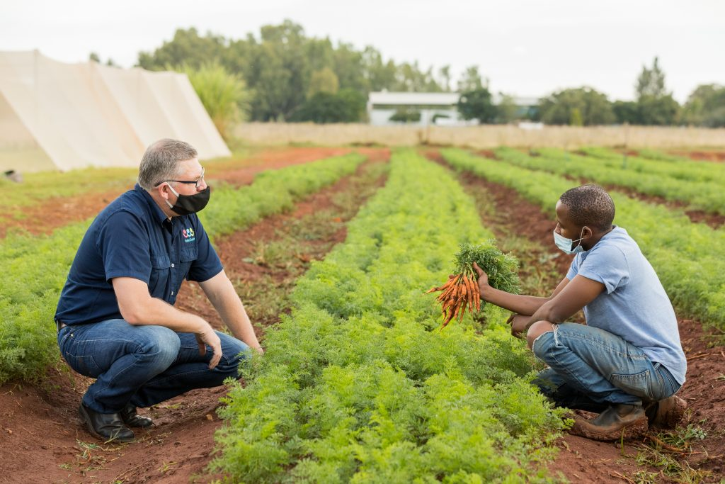 Farmer shares in good deeds with excess veggies